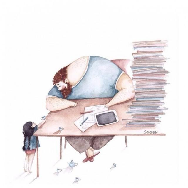 """""""Anche se impegnato, avrò sempre del tempo per te"""""""