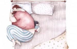 Il rapporto padre-figlia descritto in dei bellissimi disegni. La n. 10 vi farà piangere!
